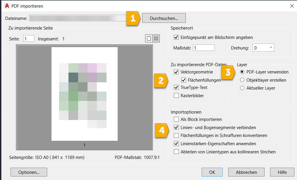 PDFIMPORT Datei