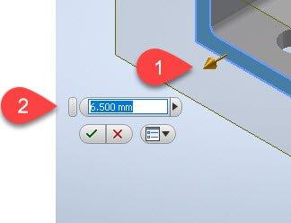 Wert für die Bildlauf- Schrittgröße